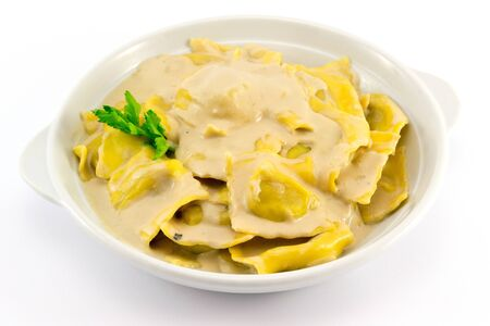 ravioli stuffed with mushrooms Imagens - 15788503