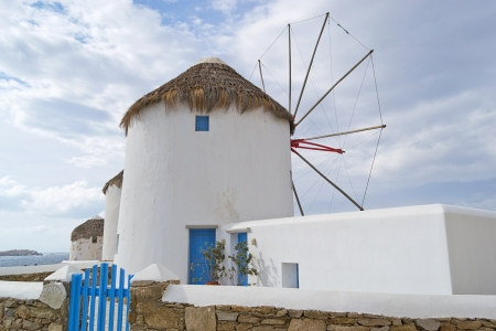 windmills, Mykonos-Greece Stock Photo - 15932131