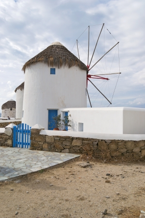 windmills, Mykonos-Greece Stock Photo - 15931904