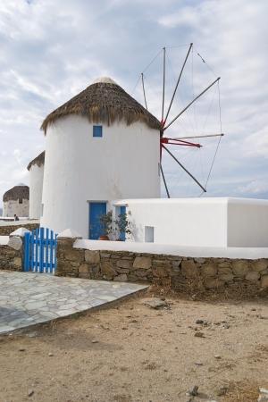 windmills, Mykonos-Greece Stock Photo - 15931904