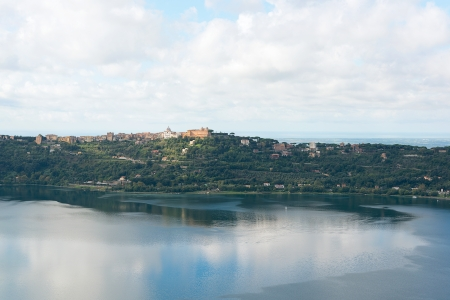 Castel Gandolfo, Lake Albano-Rome Stock Photo - 16048049