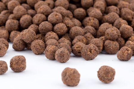 chocolate cereals Stock Photo - 16449435