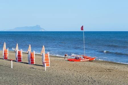 pontine: San Felice Circeo, seen from the sea