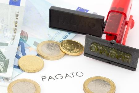paid � Stock Photo - 16704095
