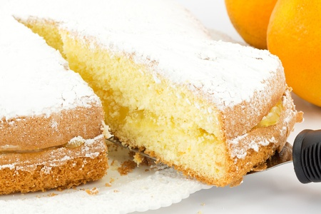 orange cake Stock Photo - 17074045