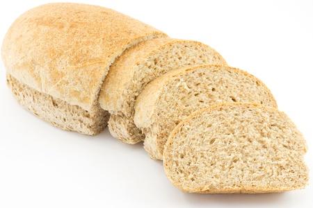 bread loaf: pane integrale Archivio Fotografico
