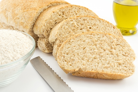 leavening: wholemeal bread