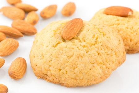 almond biscuits Stock Photo - 17313130