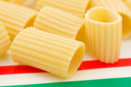 maccheroni, italian pasta  photo