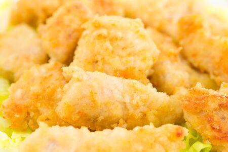 nuggets de poulet: nuggets de poulet au citron