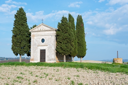 st  francis: Church of Our Lady of Vitaleta