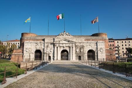 times new roman: Porta Nuova, Verona-Italy Editorial