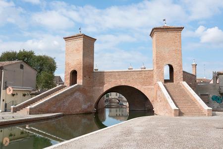 festival scales: Trepponti of Comacchio