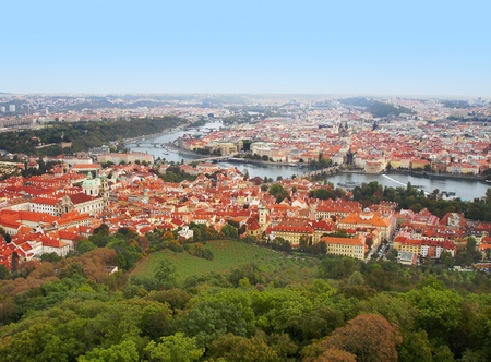 Prague landscape photo