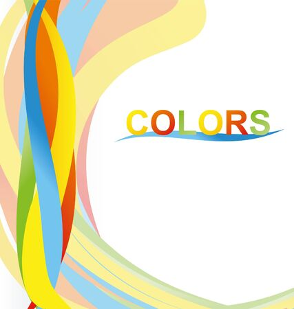 saturated color: color abstract vector
