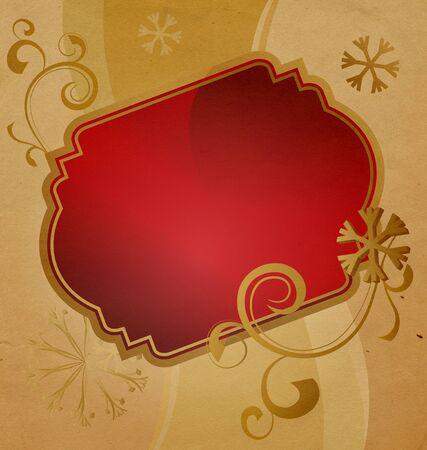 christmas banner vintage illustration illustration