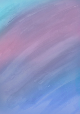 watercolor background with stripes in blue, pink, violet and dark blue colors photo