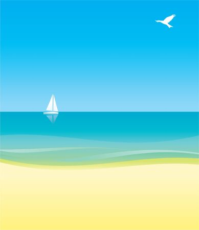 white yacht in blue sea under blue sky  background photo