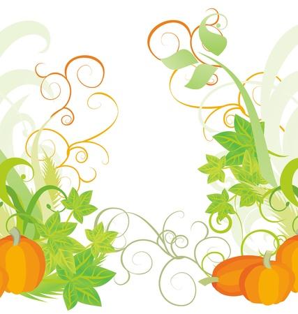 autumn textured orange pumpkin background