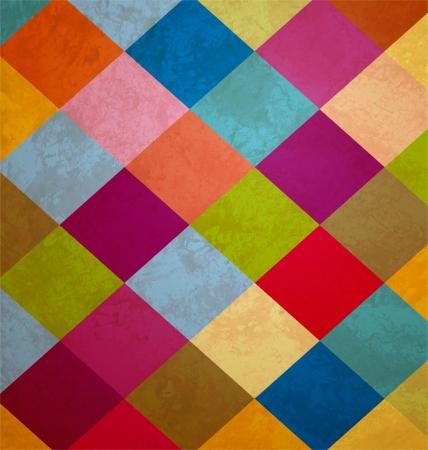 fondo de circo: cuadrados grunge antecedentes coloridos
