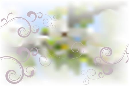 Apple blossom Illustration