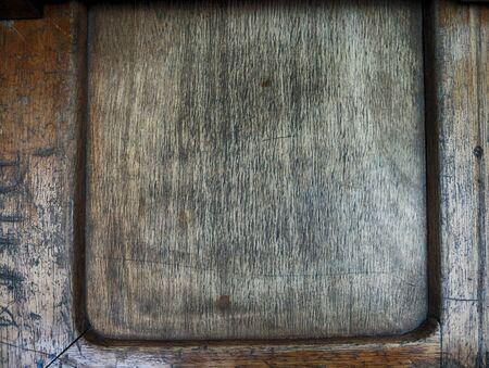 old desk: old wood textured desk