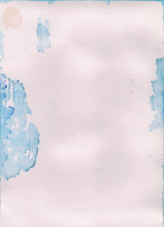 hand made pictured: Abstract hand painted watercolor paper background