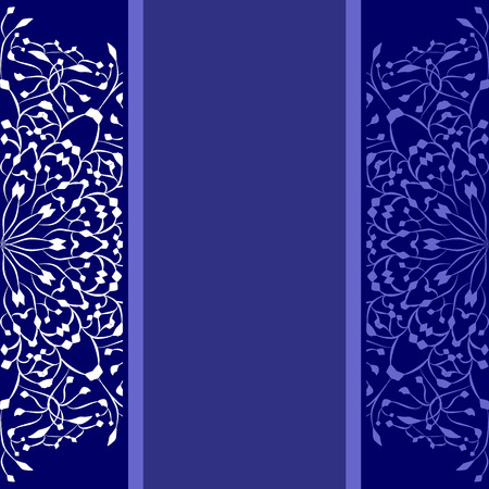 copy space: blue background with copy space