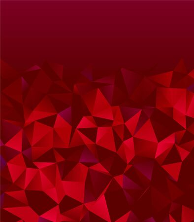 red triangles gems textured baclground  イラスト・ベクター素材