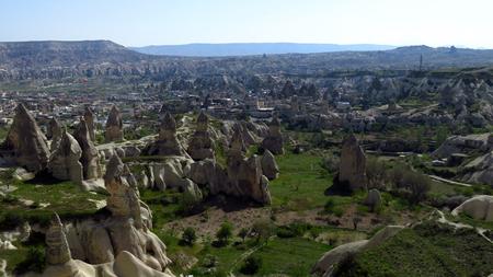 Fairy Chimneys in Göreme, Cappadocia Zdjęcie Seryjne