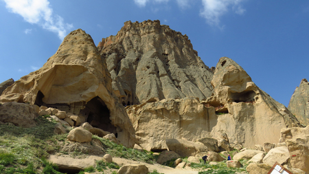Panoramic View of Selime Monastery in Cappadocia Stockfoto