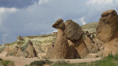 Snail-Shaped Rock Formation at Devrent, Imaginary Valley, Cappadocia