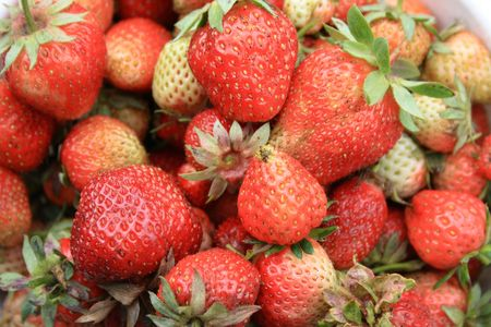 Red strawberry1 Stock Photo - 1180625