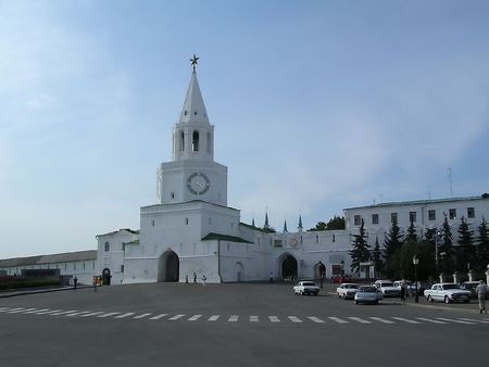 kazan: Russia, Kazan, main entrance to the Kremlin
