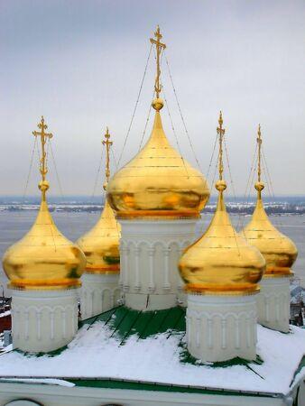 novgorod: Russia, Nizhny Novgorod. Dome