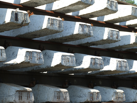 Blocks of the ties 1 Stock Photo - 1415435