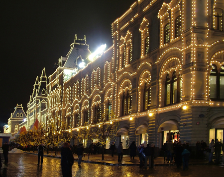 Illumination to the building 1