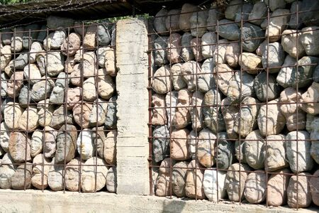 part prison: Wall of the memory of victims, the abstraction