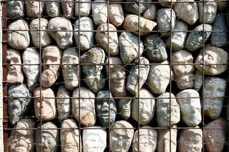 抽象化 3 犠牲者の記憶の壁
