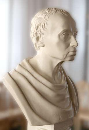 Statue of the philosopher