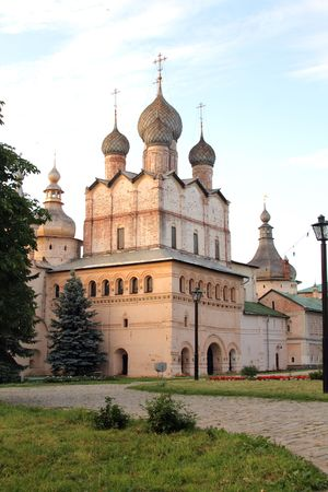 Kremlin Rostov city Stock Photo - 2066104