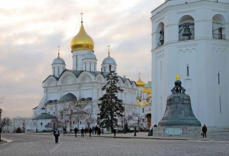 arrepentimiento: Arkhangelskiy Catedral  Foto de archivo