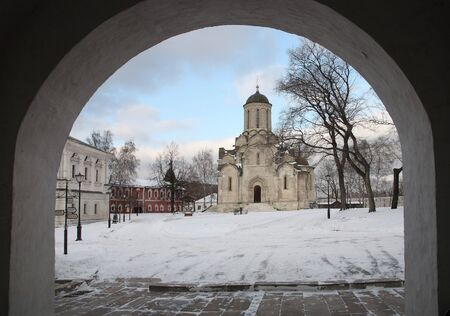 Spaso- Andronikov the monastery Stock Photo - 2575704