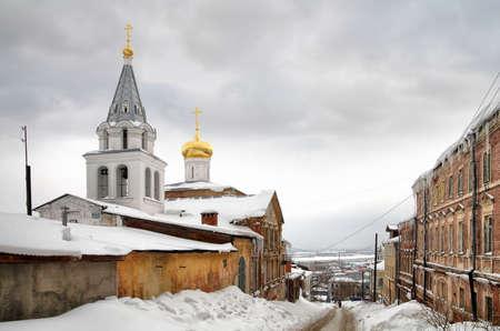 Ancient part of the city Nizhniy Novgorod photo