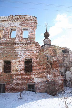 decrepitude: Destroyed temple