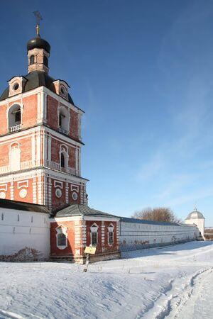 Uspenski Goritskiy monastery, the architectural museum Stock Photo - 2831171