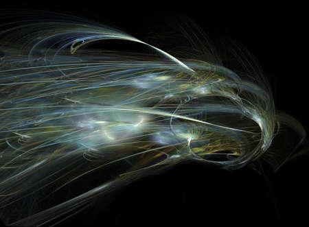 luminous: Luminous beam Stock Photo