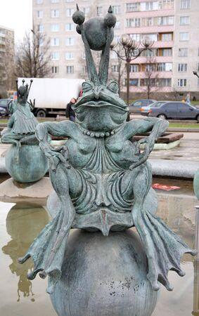 part frog: Tsarevna - frog from the fountain expectation