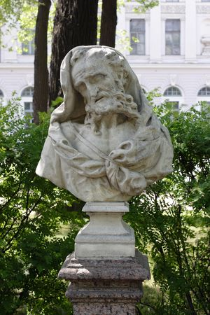 Heraclitus, the sculptor Marinali, 18 the century