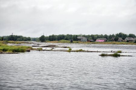 sullenly: City Belomorsk, river of Vyg